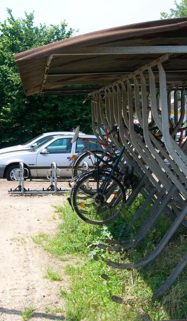 Covered Bike Storage : Covered bike racks photos tim hatch